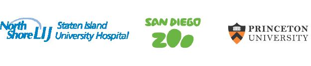 Staten Island Hospital, San Diego Zoo, Princeton University